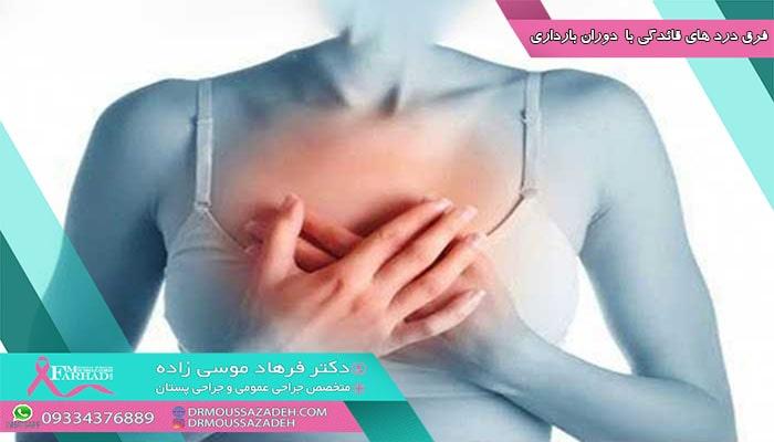 بسیاری از علائم اولیه بارداری از علائم مرتبط با سندرم قبل از قاعدگی (PMS) تقلید میکنند. در نیمه دوم چرخه قاعدگی، ممکن است سینههایی دردناک ، سنگین یا حساس به عنوان علامت PMS داشته باشید. سینههای شما ممکن است احساس برجستگی یا درد داشته باشد. همانند اوایل بارداری، این علائم جسمی با تولید هورمون هایی مانند پروژسترون ایجاد میشود.